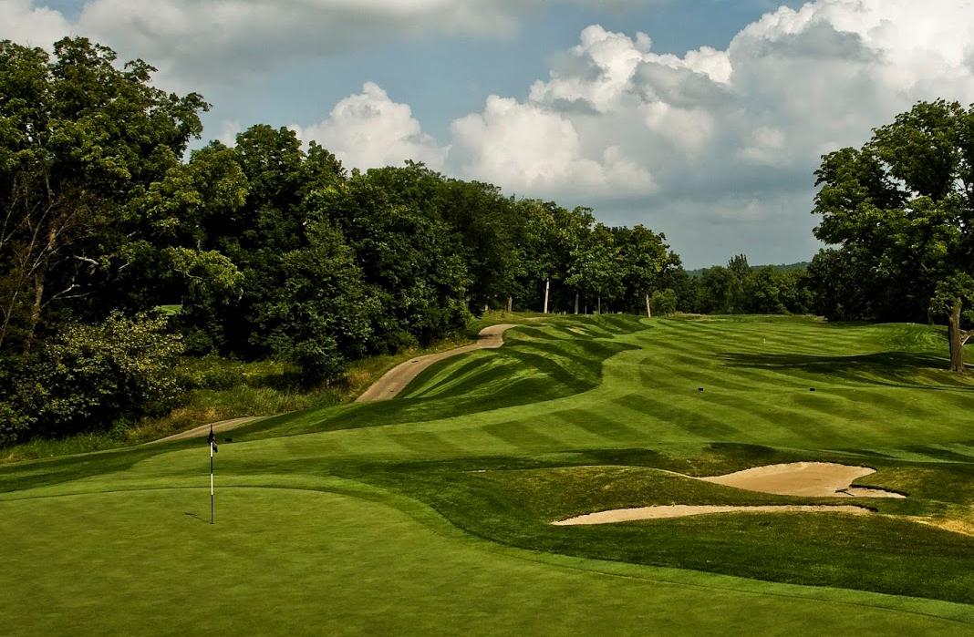 Golf course at Geneva Ridge Resort.