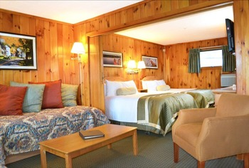 Cabin at Woodloch Resort.