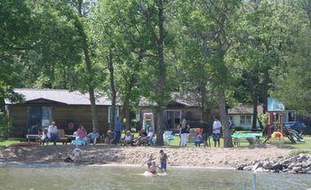 Exterior view of Hidden Haven Resort and Campground.