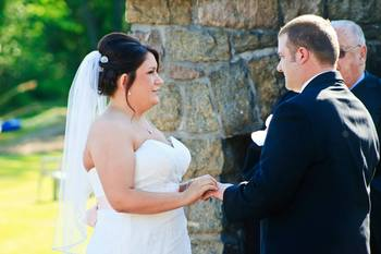 Weddings at Twin Pines Resort.