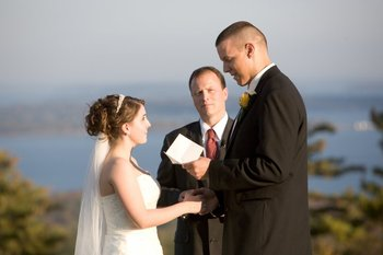 Wedding at Point Lookout Resort.