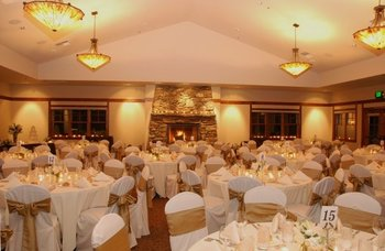 Wedding Reception at FivePine Lodge