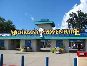 Waterpark near Michigan's Adventure.