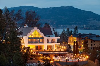 Exterior view of  Lake Okanagan Resort.