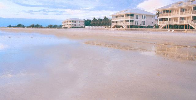 The beach at Palm Island Resort.