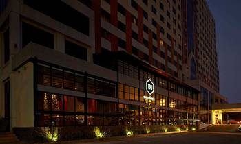 Exterior view of Atlet Century Park Hotel.