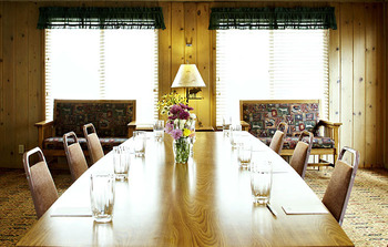 Meeting room at Jackson Hole Lodge.