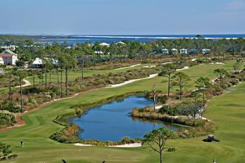Golf course near Pointe South.