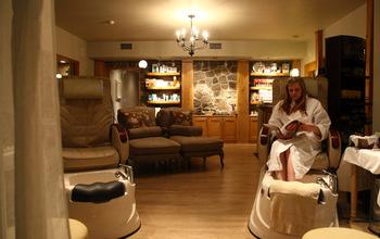 The spa at Elmhirst's Resort.
