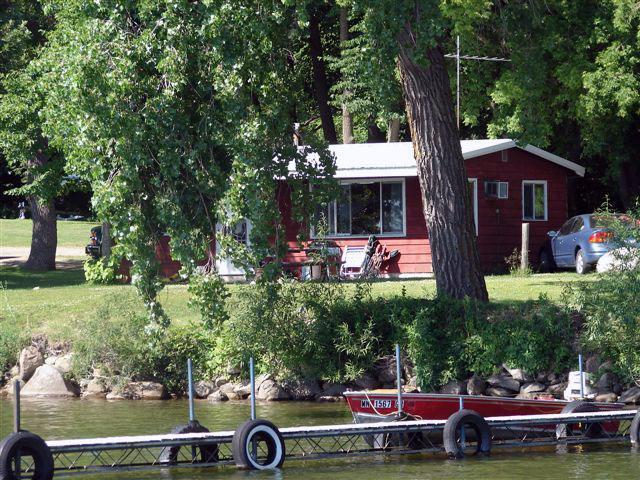 Bayview Cabin at Ten Mile Lake Resort.