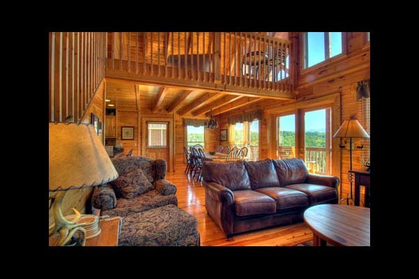 Pigeon Forge Vacation Rentals - Cabin - Spacious 6-Bedroom Cabin ...