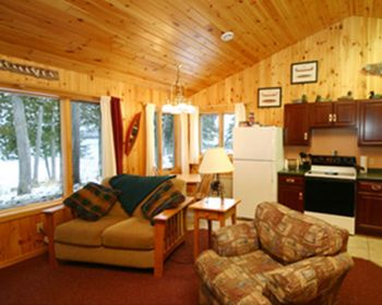 Cabin Interior at Gunflint Lodge