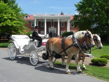 Weddings at Shenvalee Golf Resort.