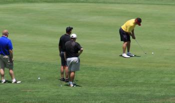 Golf course at Terrace Hotel Lake Junaluska.
