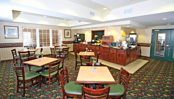 Breakfast Nook at the Country Inn & Suites by Carlson