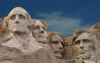 Mount Rushmore at Canyon Lake Resort.