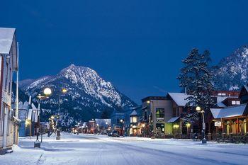 Town view at SkyRun Vacation Rentals - Summit County, Colorado.