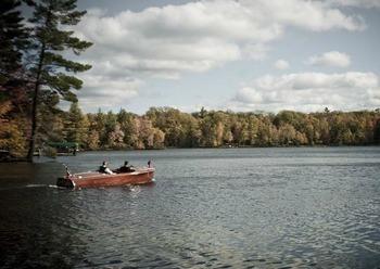 Canoeing at Chanticleer Inn.
