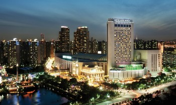 Exterior view of Hotel Lotte World.