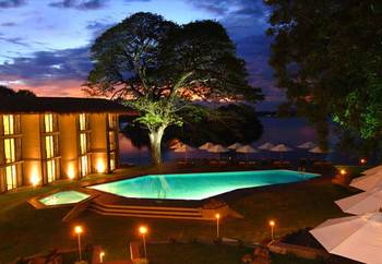 Exterior view of Yala Safari Beach Hotel.