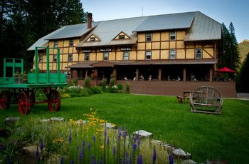 Exterior view of Izaak Walton Inn.
