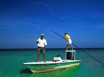 Fishing at The Banyan Resort.