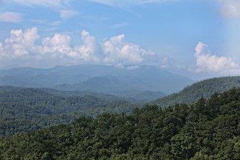 Mountain view at Eden Crest Vacation Rentals, Inc.