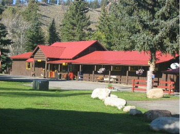 Exterior view of Harmels Ranch Resort.