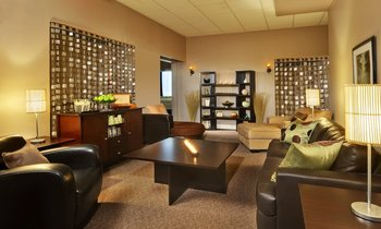 Lounge Area at Four Points by Sheraton St. Catharines Niagara Suites
