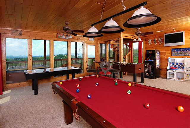 Sevierville vacation rentals cabin a walk in the for 2 bedroom cabins for rent in pigeon forge tn