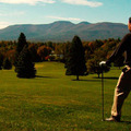 Golfer at Thunderhart Golf Course