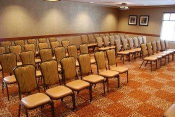 Conference room at Honey Creek Resort.