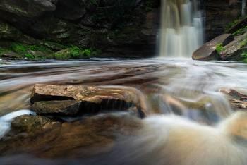 Waterfall near Eagle River Inn.