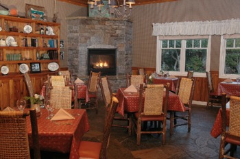 Fireside Lounge at Cambria Pines Lodge