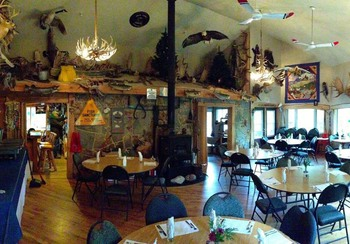 Dining at Smith Camps.