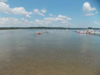 Lake view at Good Ol' Days Resort.
