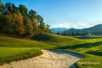Gatlinburg Golf Course near Eagles Ridge Resort.