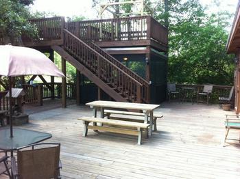 Deck view at Berry Creek, LLC.