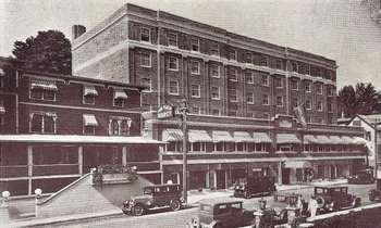 Historic photo of Northwoods Inn.