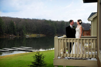 Wedding at Railey Mountain Lake Vacations.