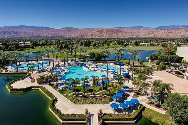 Aerial View of JW Marriott Desert Springs