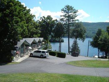 Exterior view of Tea Island Resort.
