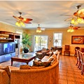 Tahitian Princess Living Area at Condolux Vacation Rentals
