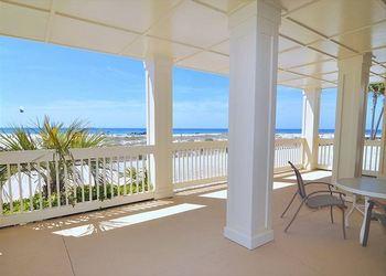 Porch view at Royal Beach Rentals.