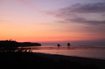 View from Bullman Beach Inn
