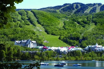 Shoreline at Fairmont Tremblant Resort.