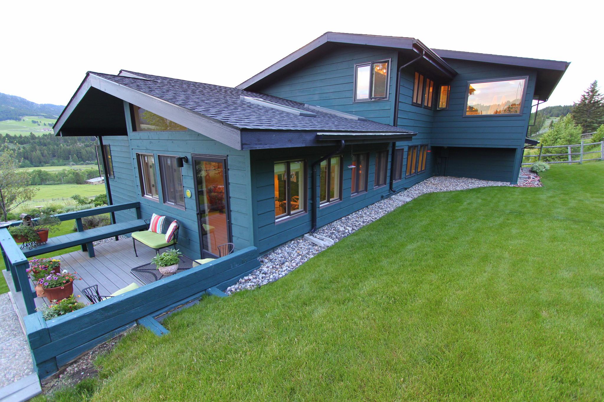 Rental exterior of Bozeman Montana Real Estate.