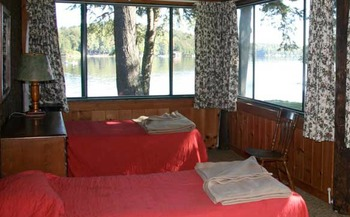 Guest Room at Covewood Lodge