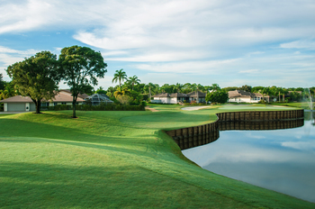 Golf course at The Seagate Hotel & Spa.