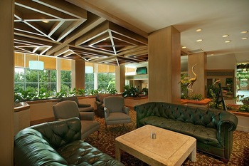 Lounge at South Shore Harbour Resort & Spa.